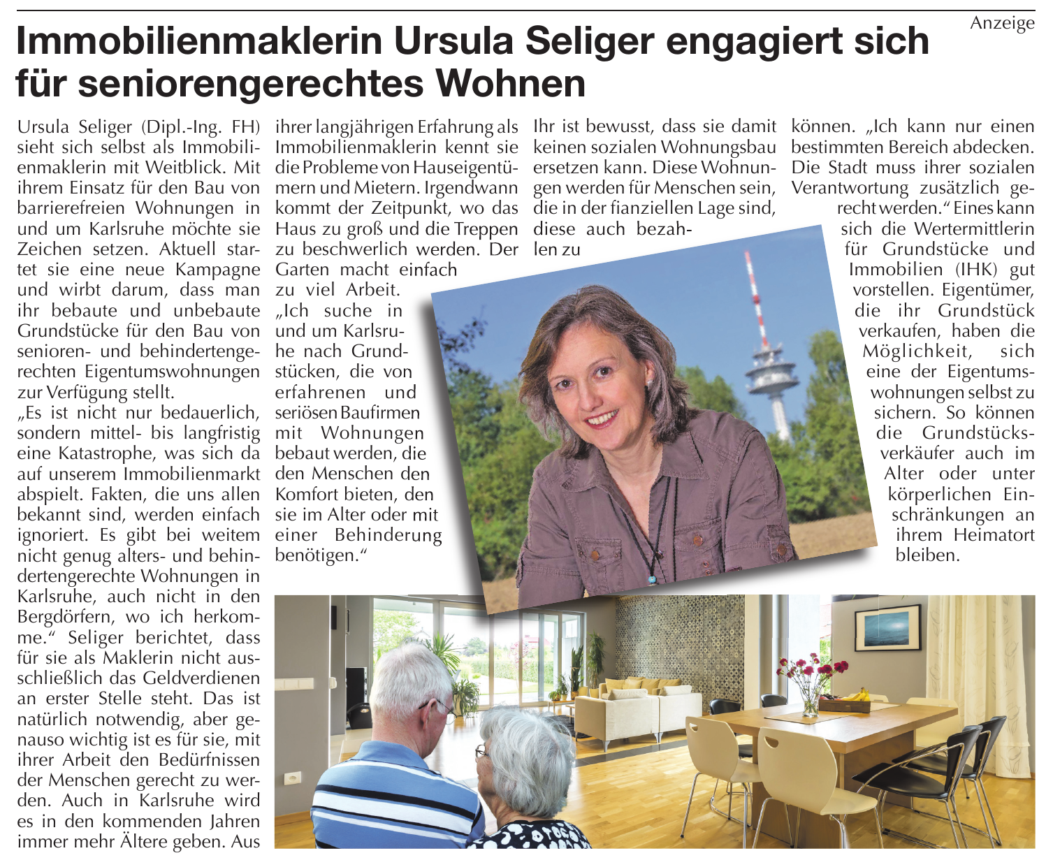 Anzeige Durlacher Blatt vom 30.05.2018